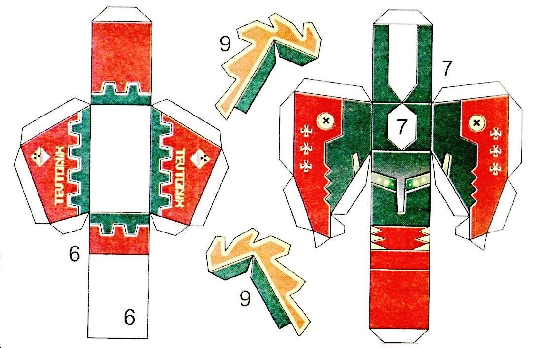 Как сделать рыцаря из бумаги оригами